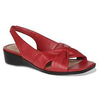 LifeStride Mimosa Women's Slingback Wedge Sandals