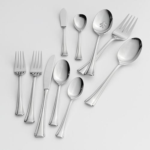 Oneida Bordeaux 45-pc. Flatware Set