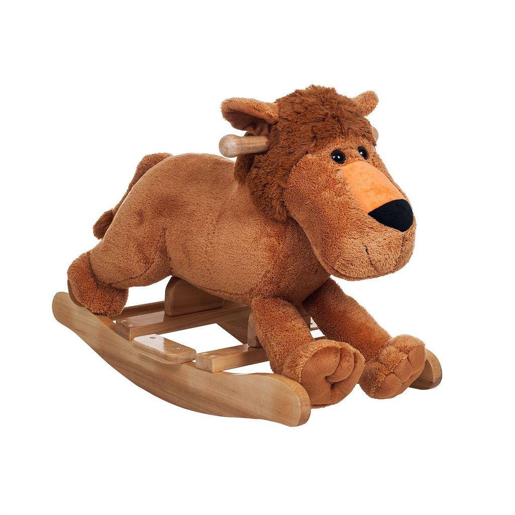 Happy Trails Plush Rocking Leo Lion