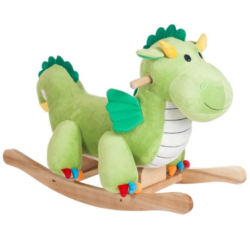 Happy Trails Plush Rocking Dagwood Dragon
