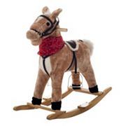 Happy Trails Plush Rocking Dusty Horse