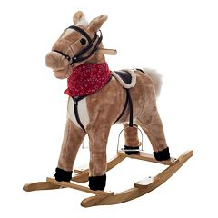 Happy Trails Plush Rocking Dusty Horse