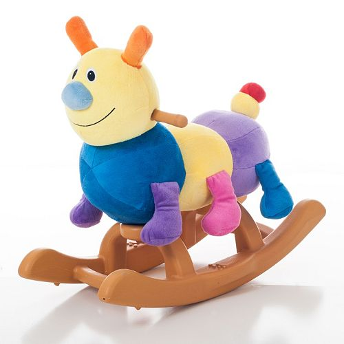 Happy Trails Plush Rocking Cam Caterpillar