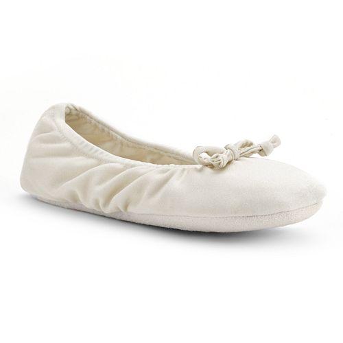 MUK LUKS Women's Ballet Slippers