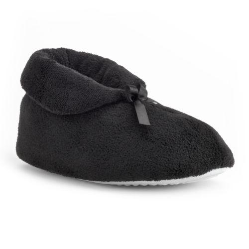 MUK LUKS Bootie Slippers - Women