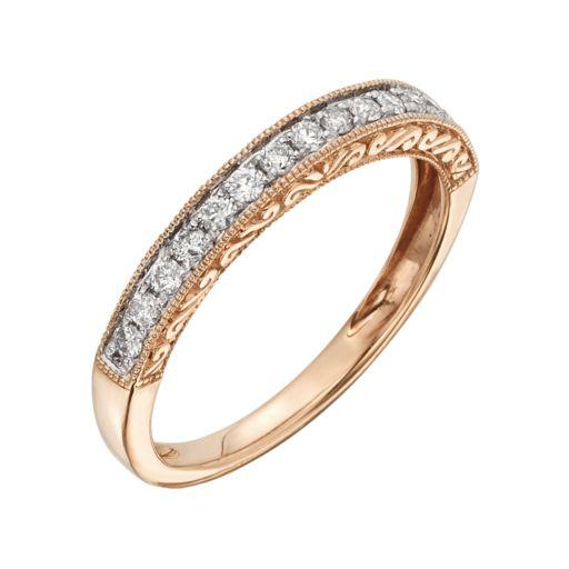 14k Gold 1/4-ct. T.W. IGL Certified Diamond Wedding Ring