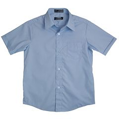 Boys 8-20 Husky French Toast School Uniform Classic Dress Shirt