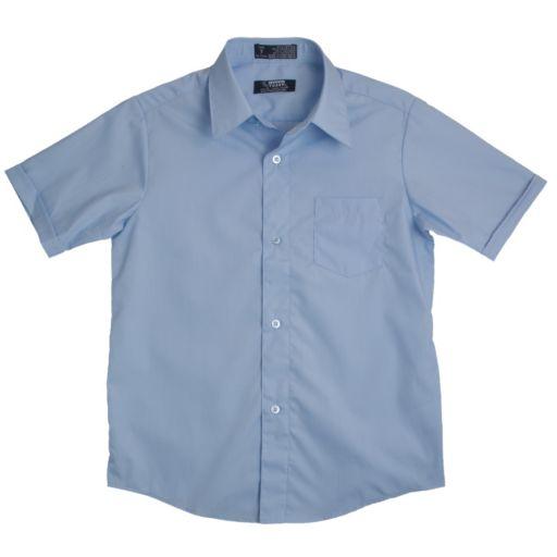 Boys 8-20 Husky French Toast School Uniform Classic Dress Shirt