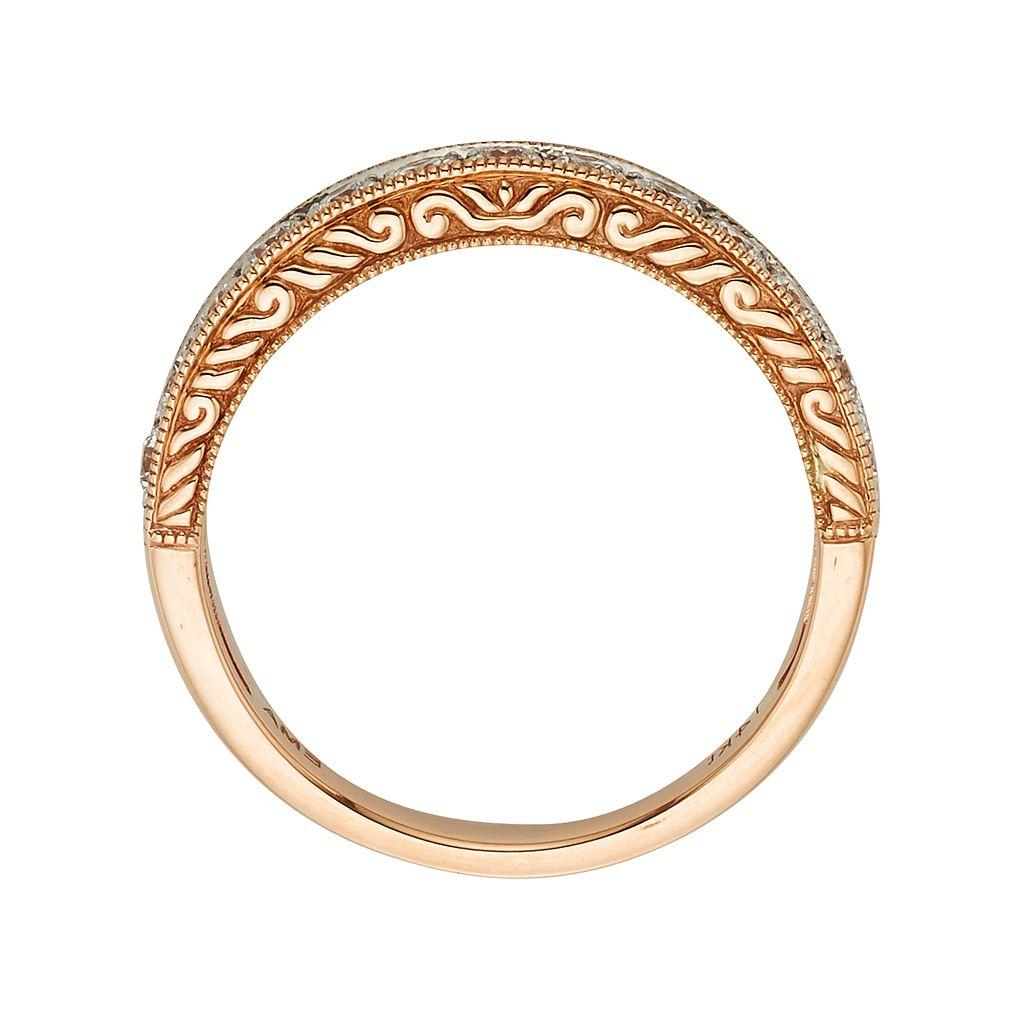 14k Gold 1/2-ct. T.W. IGL Certified Diamond Wedding Ring