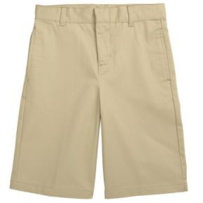 French Toast School Uniform Flat-Front Shorts - Boys 8-20