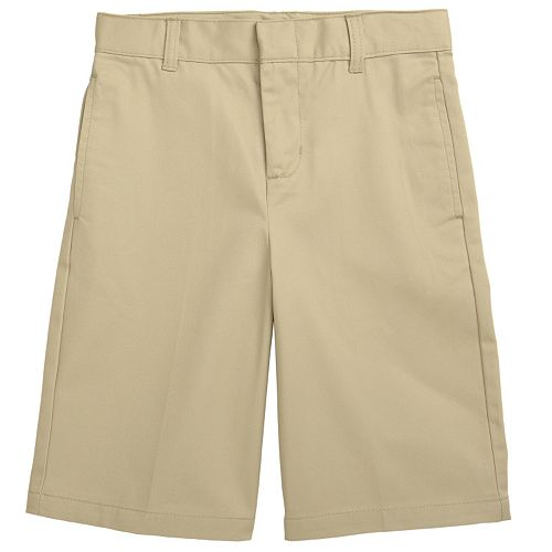 French Toast School Uniform Flat-Front Shorts - Boys 8-20
