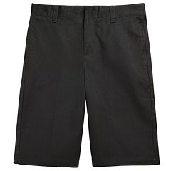 French Toast School Uniform Flat-Front Shorts - Boys 8-20 Husky