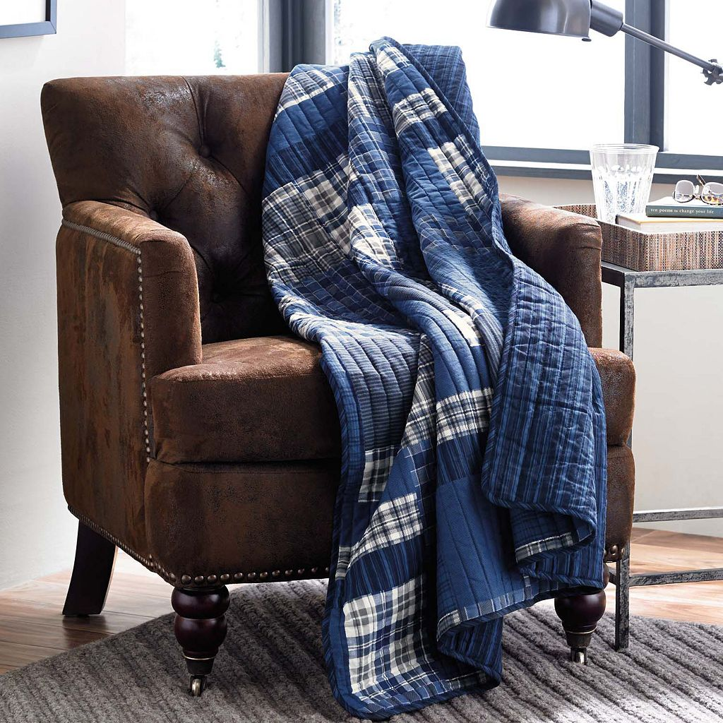 Eddie Bauer Eastmont Reversible Quilted Throw