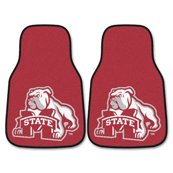 FANMATS 2-pk. Mississippi State Bulldogs Car Floor Mats