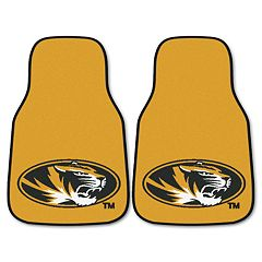 FANMATS 2 pkMissouri Tigers Car Floor Mats