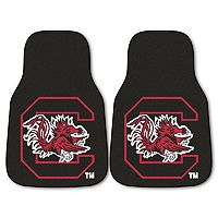 FANMATS 2 pkSouth Carolina Gamecocks Car Floor Mats
