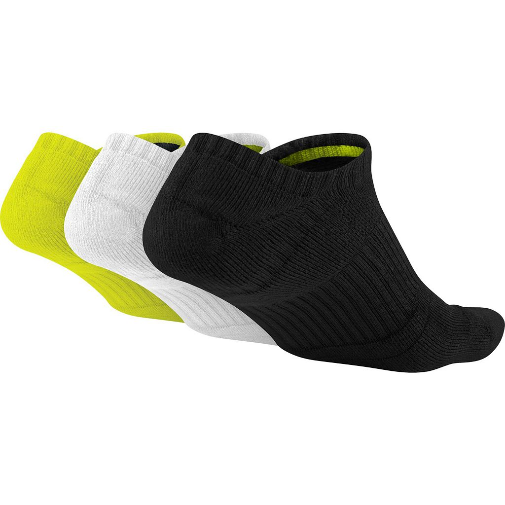 Men's Nike 3-Pack Dri-Fit No-Show Socks
