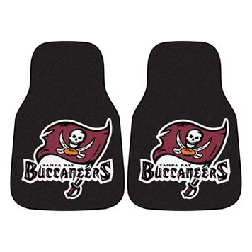 FANMATS 2-pk. Tampa Bay Buccaneers Car Floor Mats
