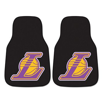 FANMATS 2-pk. Los Angeles Lakers Car Floor Mats