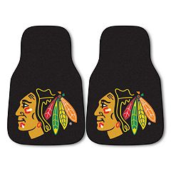FANMATS 2 pkChicago Blackhawks Car Floor Mats