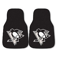 FANMATS 2-pk. Pittsburgh Penguins Car Floor Mats