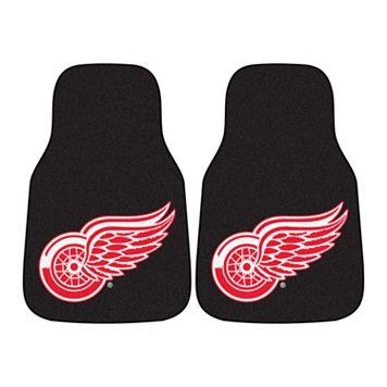 FANMATS 2-pk. Detroit Red Wings Car Floor Mats