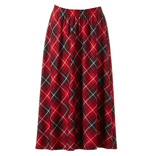 b2a7d2a51b737 Cathy Daniels Plaid A-Line Skirt - Women s