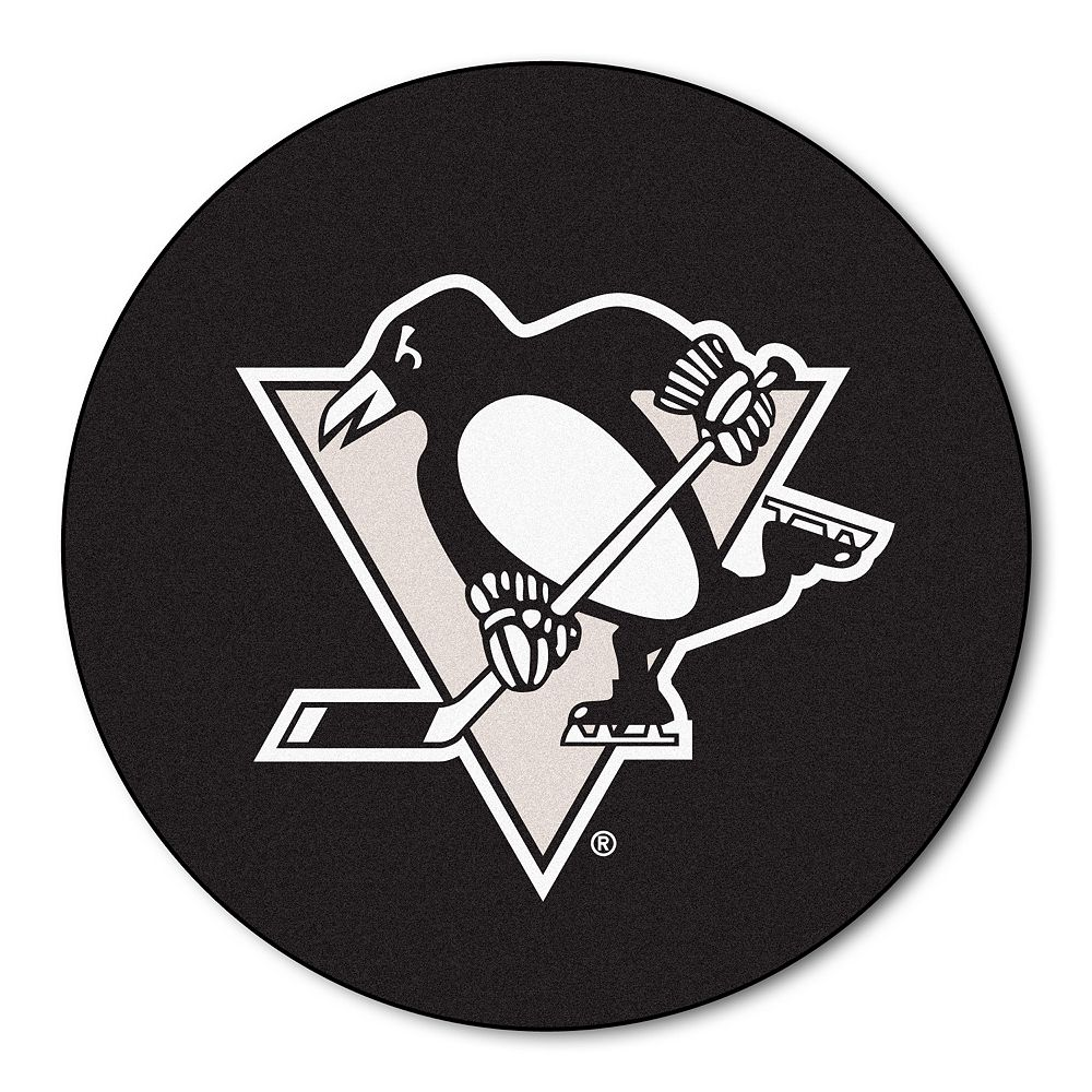FANMATS Pittsburgh Penguins Rug - 27'' Round