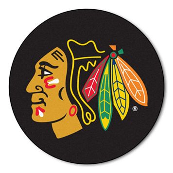FANMATS Chicago Blackhawks Rug - 27'' Round