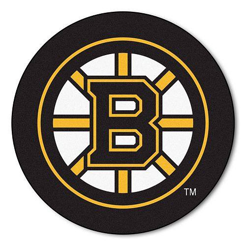 FANMATS Boston Bruins Rug - 27'' Round