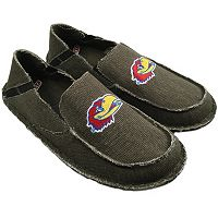 Men's Kansas Jayhawks Cazulle Canvas Loafers