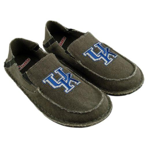 Men's Kentucky Wildcats Cazulle Canvas Loafers