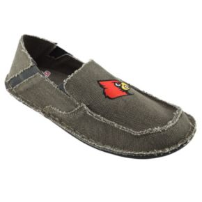 Men's Louisville Cardinals Cazulle Canvas Loafers