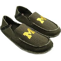 Men's Michigan Wolverines Cazulle Canvas Loafers