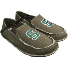 Men's Michigan State Spartans Cazulle Canvas Loafers