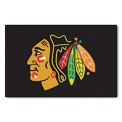 FANMATS Chicago Blackhawks Starter Rug - 19'' x 30''