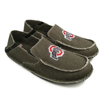 Men's Ohio State Buckeyes Cazulle Canvas Loafers