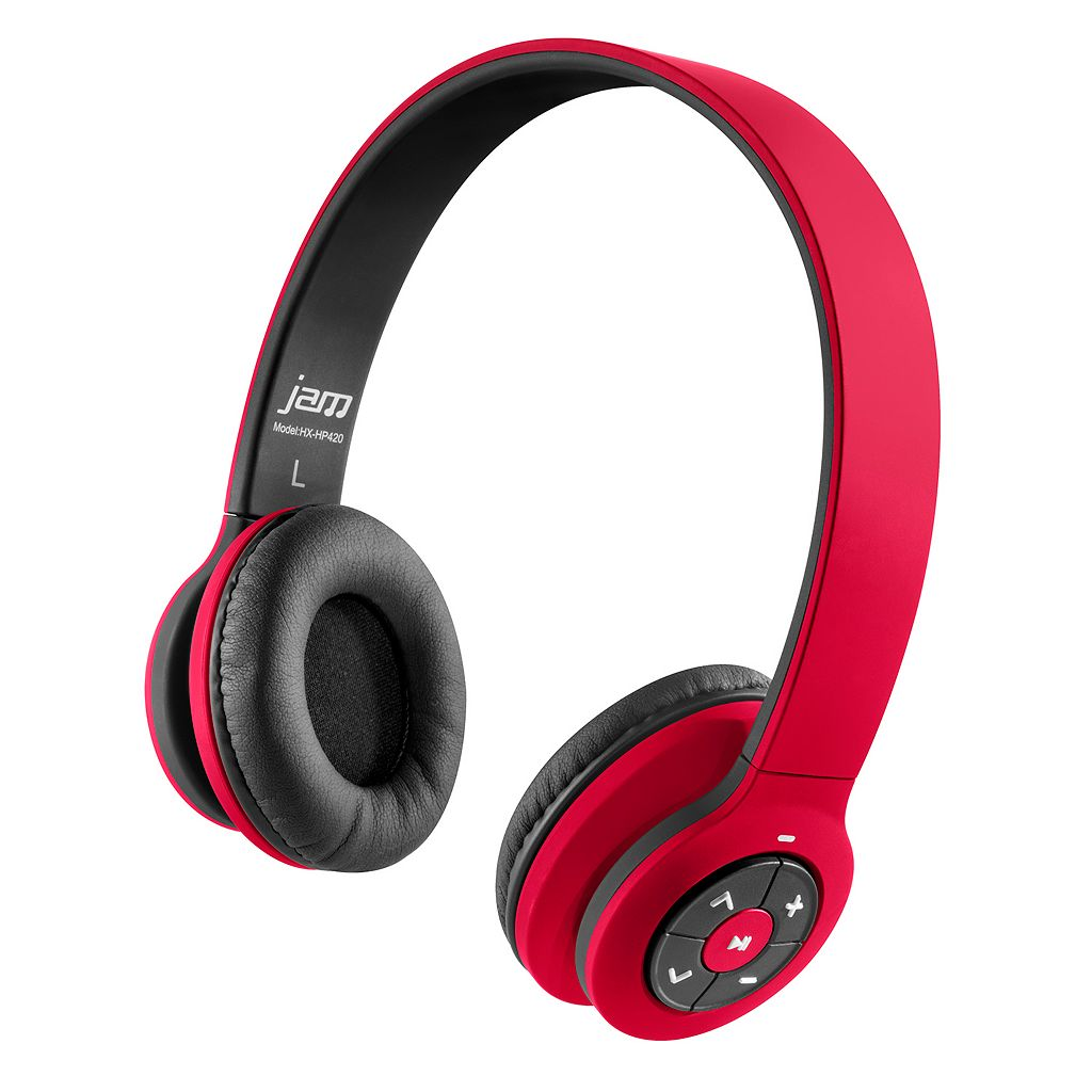 HMDX Jam Transit Bluetooth Wireless On-Ear Headphones