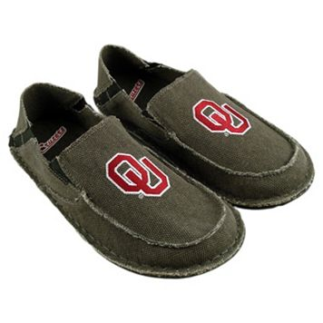 Men's Oklahoma Sooners Cazulle Canvas Loafers