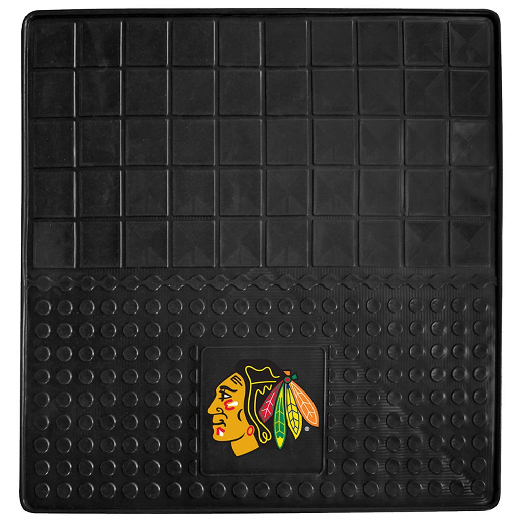 FANMATS Chicago Blackhawks Heavy Duty Cargo Mat - 31'' Square