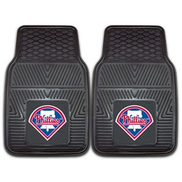 FANMATS 2-pk. Philadelphia Phillies Heavy Duty Car Floor Mats