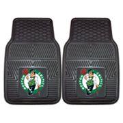 FANMATS 2 pkBoston Celtics Heavy Duty Car Floor Mats