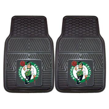 FANMATS 2-pk. Boston Celtics Heavy Duty Car Floor Mats