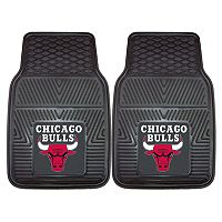 FANMATS 2 pkChicago Bulls Heavy Duty Car Floor Mats