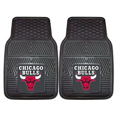 FANMATS 2-pk. Chicago Bulls Heavy Duty Car Floor Mats