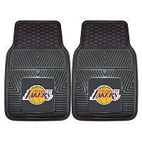 FANMATS 2 pkLos Angeles Lakers Heavy Duty Car Floor Mats