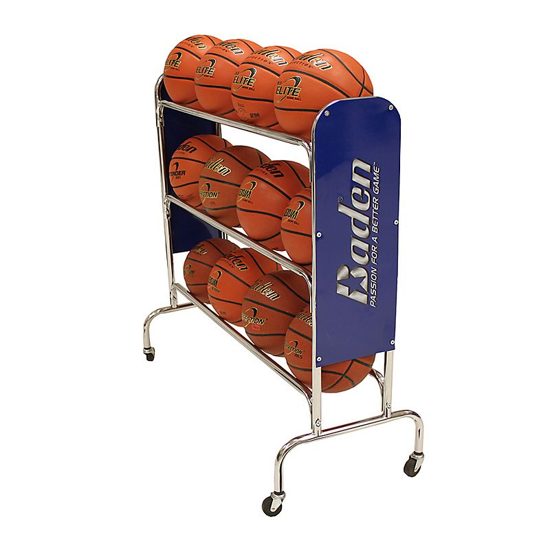 Baden 12-Ball Wheeled Basketball Rack