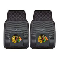 FANMATS 2 pkChicago Blackhawks Heavy Duty Car Floor Mats