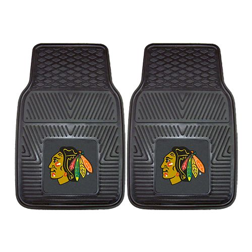 FANMATS 2-pk. Chicago Blackhawks Heavy Duty Car Floor Mats