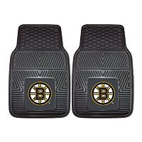 FANMATS 2 pkBoston Bruins Heavy Duty Car Floor Mats